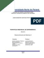Portifolio Individual 2015 - Individual DP 2 Semestre