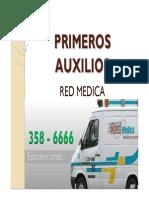 Taller Primeros Auxilios Red Medica 2010