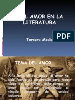 Amor en Literatura 3 F