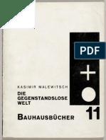 Kasimir Malewitsch Die Gegenstandslose Welt