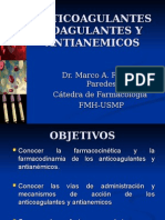 Farmacologia - Anticoagulantes