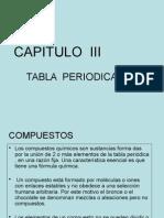 Tabla Periodica en Analitica