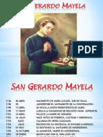 Vida de San Gerardo Mayela