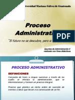Unidad I Proceso Administrativo