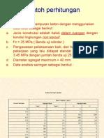 Contoh Mix Design Dg Porsi Agregat Gabungan Cara Grafik