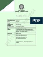 Petição Amicus Curiae - Possível Fraude Processual