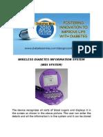 Wireless Diabetes Information System