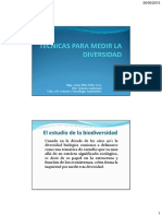 Biogeografia Practica (Tecnicas Para Medir La Diversidad) [Modo de Compatibilidad] (1)