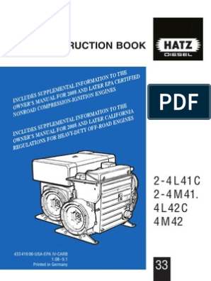 Hat z Instruction   Belt (Mechanical)   Motor Oil Hatz Engine L C Wiring Diagram on