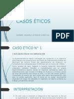CASOS PRÁCTICOS DE ÉTICA PROFESIONAL