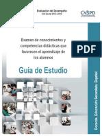 Guia Examen Conc Com Didac Docentes Espanol