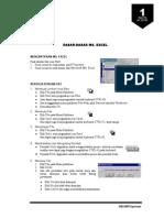 Handout Excel Bab1