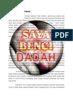 DADAH MEMBAWA PADAH