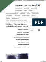 Petition – Untersuchungen Für Luki Dara Rubens Sadegh › Trauma Based Mind Control & Ritual Abuse