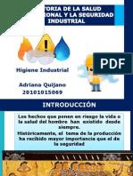 Historia Seguridad e Higiene Industrial