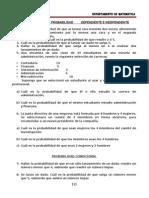 Guia de Estadistica II Año Probabilidad Dependiente e Independiente Clases