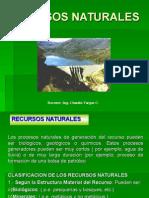 RECURSOS NATURALES 2015