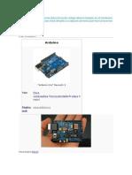 Arduino es una plataforma electrónica de código abierto basado en el hardware y el software fácil de usar