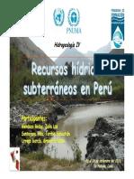 Hidrogeologia en Peru