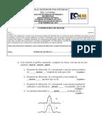 Segunda Evaluacion Fisica d II 2014