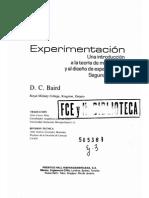 LIbro Experimentacion Baird
