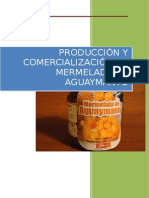 Producción y Comercialización de Mermelada de Aguaymanto