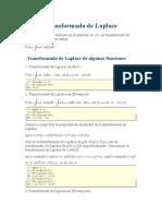 Transformada de Laplacemb