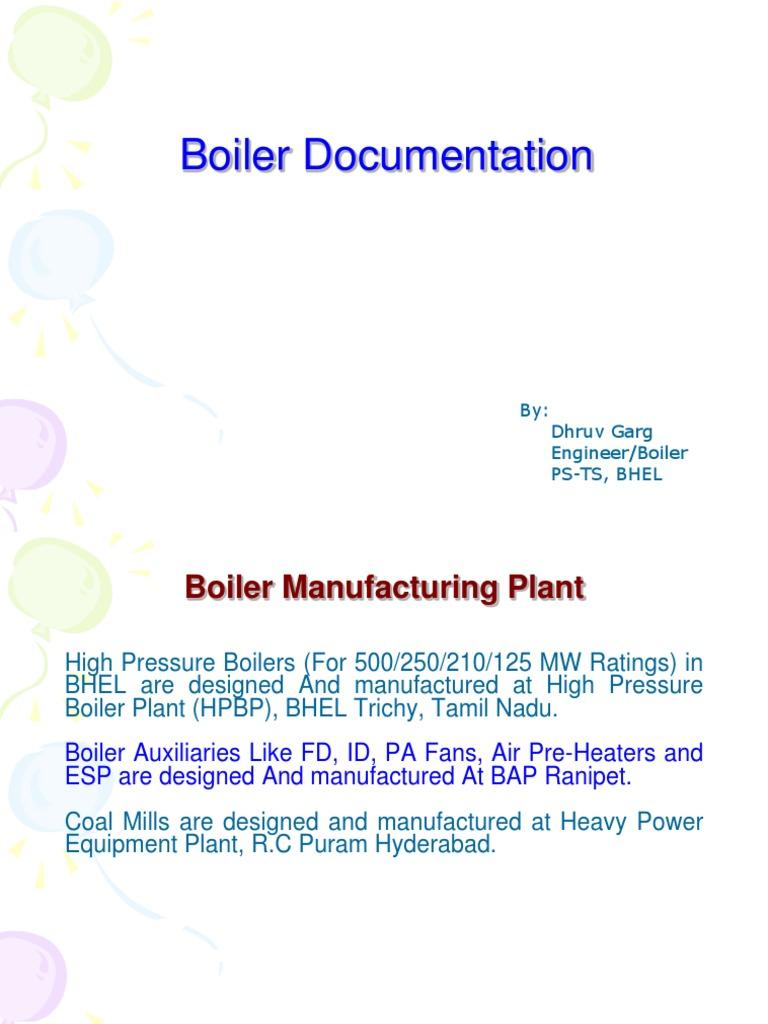3.Boiler documentation, Air & Flue Gas path, Ducts,EJ,Gates ...