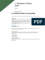 Clio 1725 22 Le Cynisme Ancien Et La Sexualite