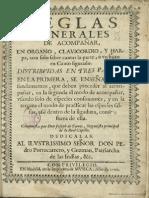 Jose de Torres - Reglas de acompanar