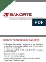 Presentación Credito Banorte