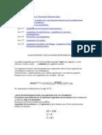 Matemáticas 18 Logaritmos y Ecuaciones