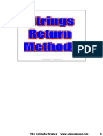 Strings Methods Slides Java Aplus