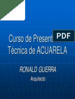Curso de Presentación en Acuarela