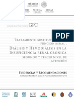 Dialisis y Hemodialisis IRC