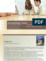 Accounting-Lone Pine Cafe Case