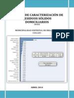 4. Estudio de Caracterizacion de Residuos Solidos Domiciliarios