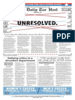The Daily Tar Heel for Oct. 22, 2015