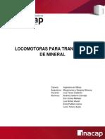 Ferrocarriles en mineria