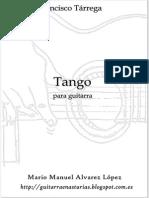 Tárrega F.- Tango