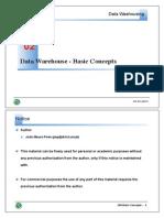 Data warehouse Basic concept 02