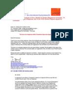 10-03-19 Fine v Sheriff (2:09-cv-01914) Correspondence Mr Carrizosa - Dr Zernik re