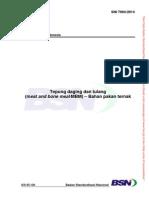 SNI 7994-2014.Tepung Daging Dan Tulang