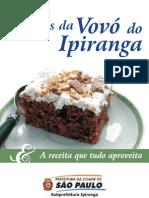 Livro de Receitas Vovo Ipiranga Volume 01