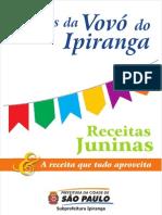 Livro de Receitas Vovo Ipiranga Volume 02