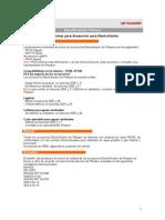 Especifi tecnicas electrofusion