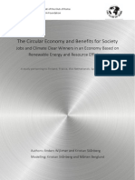 The Circular Economy and Benefits for Society (Club of Rome, 10.2015)