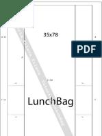 Pattern Lunch Bag