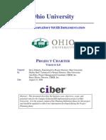 OHIOSISProjectCharter Example