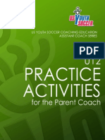 USYouthSoccer U12 Practice Activities